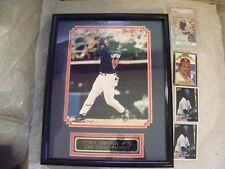 1991 POST CEREAL #10  TONY GWYNN  PSA 5 EXCELLENT, (1) Framed Signed Photo