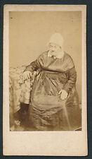 CDV c. 1870 - Curiosité Femme Moustache - Homme Travesti - T67