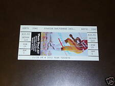 1985 FIESTA BOWL FULL TICKET  UCLA / MIAMI MINT