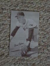 Norm Siebern, Kansas City Athletics, stat back exhibit card, early 60's
