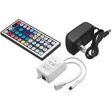 44 Key Ir Remote Controller Kit 12V 2A Power Supply for 2835 3528 5050 Led Strip