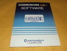 Zork I por INFOCOM (disco) Commodore 64 Completo Nuevo Viejo Stock! Raro!