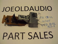 Harman Kardon CD 491 Original ON/OFF Switch Board. PCB-8. Parting Out CD 491