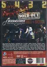 dvd AVENTURA sold out at Madison Square Garden KINGS OF BACHATA noche de sexo