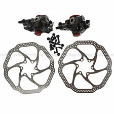 AVID BB7 MTB Bicycle Disc Brakes set Front & Rear Calipers with 160mm HS1 Rotors