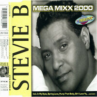 Maxi CD Stevie B Mega Mixx 2000  incl. Because I Love You und Funky Melody