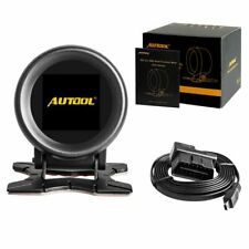 Autool X60 Obd Meter Obd 2 Hud Digital Temperature Gauge Digital Voltage Sp X6Z5
