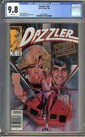Dazzler #30 CGC 9.8 Assistant Editor's Month 1984 Sienkiewicz cover X-Men Marvel