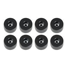 8 Gummifüße 38 x 25 mm mit Stahlscheibe Adam Hall 4911 Gummifuß Boxenfüße