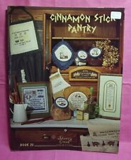 Stony Creek Collection ~ Counted Cross Stitch Book 25 ~ Cinnamon Stick Pantry