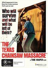 The Texas Chain Saw Massacre DVD (region 4 Australia)