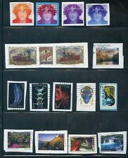 34 Us Used Resently Issued Stamps