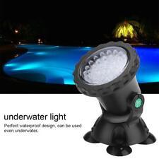 Multicolor Unterwasser-Licht LED Deko-Beleuchtung Lampe Aquarium Teich Pool IP68