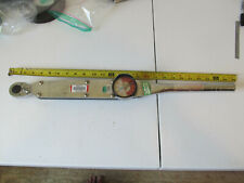 """Aircraft tools Wright Tools 1/2"""" drive ratcheting torque wrench"""