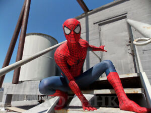 The Amazing Spiderman TASM2 Jumpsuit Spider-man Cosplay Costume For Adult & Kids