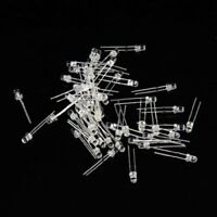 3mm white LED light 100pcs Light Emitting Diode E2U9
