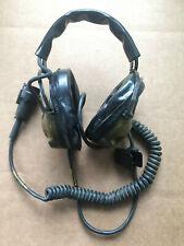 ASTROCOM H-227B/U VINTAGE HEADSET MILITARY RADIO 161/U CONNECTOR
