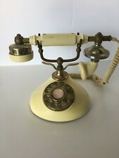 Vintage French Victorian Style Rotary Dial Telephone.