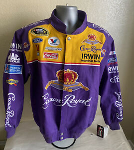 NASCAR Jamie McMurray Crown Royal Jacket Size M by Chase Brand New NWT