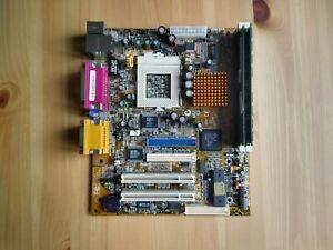Rare Super Socket 7 motherboard Ali Alladin VII FlexATX