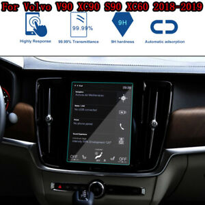 Car Navigation Screen Protector 9H Glass  For Volvo XC60 V90 XC90 S90 2018-2019