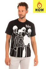 THE BEATLES x COMME DES GARCONS T-Shirt Top Size XL Coated Made in Japan