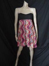 (AP233) Size10 *ASOS* Stunning pink mix bustier dress ladies/womens