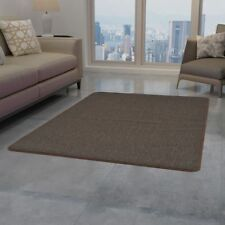 vidaXL Rug Tufted 120x180cm Brown Home Decor Living Room Soft Floor Mat Carpet