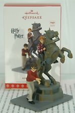 A DANGEROUS GAME HALLMARK ORNAMENT 2017 HARRY POTTER~SHIPS NOW~FREE SHIP IN US