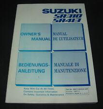 Betriebsanleitung Suzuki Swift SA 310 / SA 413 Owner´s Manual Stand Juli 1987!