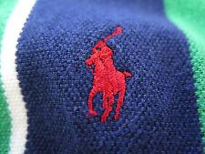 Ralph Lauren 1997 US Open Congressional Cotton Green Striped Golf Polo Shirt XL