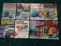 1998 Issues Classic Toy Trains Magazine 1998 USED MINT FROM COLLECTORS ESTATE