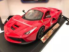 Maisto SCALA 1:18 FERRARI LA FERRARI-Rosso-Edizione Speciale Modello Diecast Auto