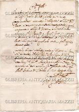 1679 – LETTERA DALL'ISOLA DI SAN GIULIO A MILANO – LAGO D'ORTA AMENO NOVARA