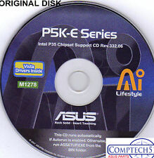 ASUS GENUINE VINTAGE ORIGINAL DISK FOR P5K-E LGA and WIFI Motherb Disk M1278