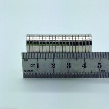 20 VERY SMALL SUPER STRONG DISC MAGNETS TOP N52 GRADE 12MM X 2MM FROM THE UK!!