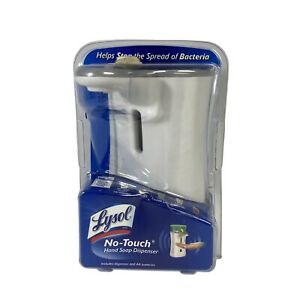 Lysol No-Touch Hand Soap Automatic Dispenser White New Sealed