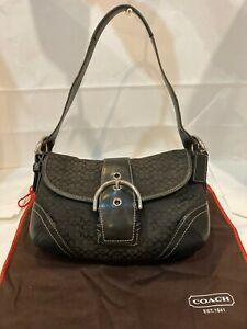 Vintage Coach Women Handbag. 10 Inch Wide