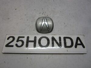 1990-1993 Acura Integra Factory Front A Emblem DA DA6 DB2 OEM Factory Rare