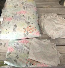 Jumping-Beans-Enchanted Gardens- 5 Pc Comforter/Sheet Set