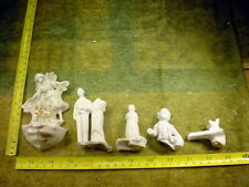 5 x excavated vintage damaged doll parts age 1890 altered Art mixed media B 788