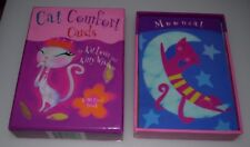 Cat Comfort Cards by kat lover , kitty wisdom
