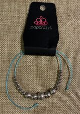 Zen Blue Anklet Paparazzi Accessories Beach
