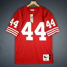 100% Authentic Tom Rathman Mitchell & Ness 1989 49ers Jersey Mens Size 40 M Mens