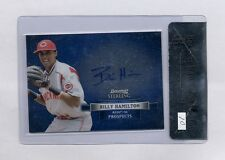 BILLY HAMILTON 2012 BOWMAN STERLING AUTO ROOKIE RC BGS 9 10 REDS