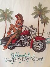 Harley Davidson Camisa de Hawaii HONOLULU