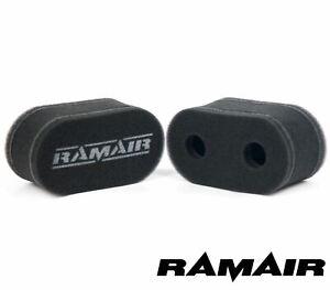 Ramair Performance Sock Air Filters Weber DCEO 40/45 DHLA &DRLA Carburettors