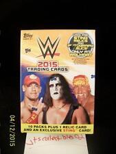 2015 Topps WWE Blaster Box WalMart Exclusive Sting Relic Autograph Auto SP