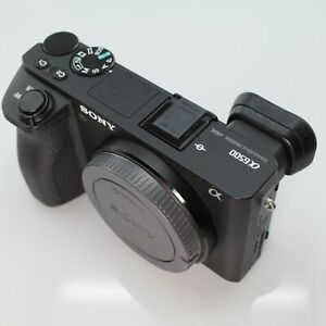Sony A6500 4K Camera Body  - Low Shutter Count - Perfect working order