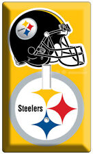 PITTSBURGH STEELERS NFL FOOTBALL TEAM LOGO SINGLE LIGHT SWITCH WALL PLATE COVER